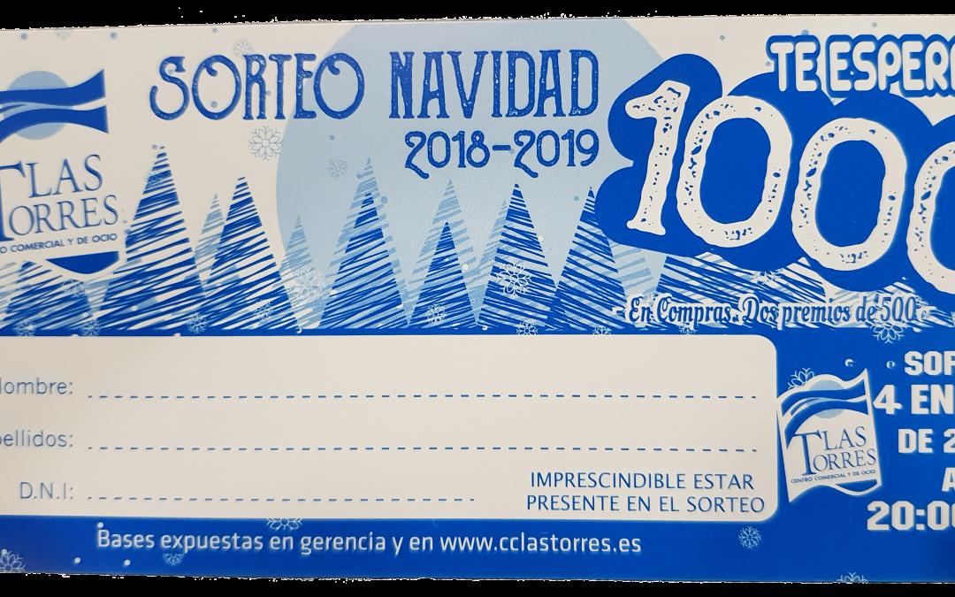 Bases del Sorteo de Navidad 2018/19 – 1.000€